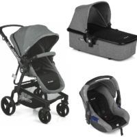 Carro Trio Slide 3 Top Black Mix