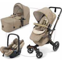 Carro Trío Neo Mobility Concord Beige + BASE ISOFIX