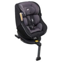Silla Auto Spin 360 Two Tone Black