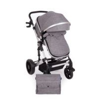 Carro Darling 3 en 1 Transformable Gris