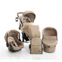 Carro Trio Madrid Beige