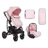 Carro Beloved 3 en 1 Transformable Rosa