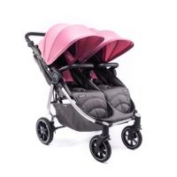 Carro Easy Twin 4 Light Baby Monsters Chasis Silver